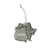 Pewter Santa Ornament-Arched Bruins Engraved