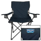 Deluxe Navy Captains Chair-Arched Bruins Shield