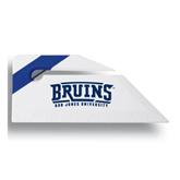 Angled Blue Stripe Letter Opener-Arched Bruins