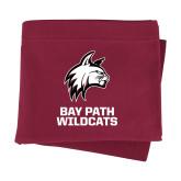 Maroon Sweatshirt Blanket-Primary Mark
