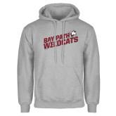 Grey Fleece Hoodie-Bay Path Wildcats Slashes