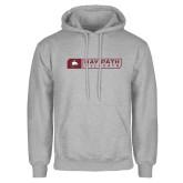 Grey Fleece Hoodie-Bay Path Wildcats Box