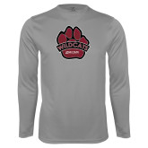 Performance Steel Longsleeve Shirt-Wildcat Paw