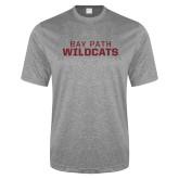 Performance Grey Heather Contender Tee-Bay Path Wildcats