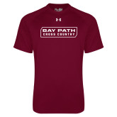 Under Armour Maroon Tech Tee-Cross Country