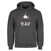 Charcoal Fleece Hoodie-Alumni