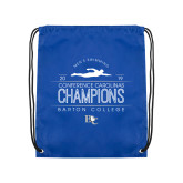 Royal Drawstring Backpack-2019 Mens Swimming Champions