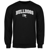 Black Fleece Crew-Arched Bulldogs