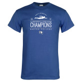 Royal T Shirt-2019 Mens Swimming Champions
