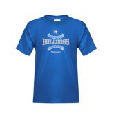 Youth Royal T Shirt-Softball Design
