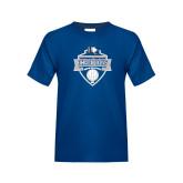 Youth Royal T Shirt-Conference Carolinas Champions - Mens Volleyball