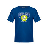 Youth Royal T Shirt-Conference Carolinas Champions - Mens Tennis