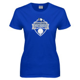 Ladies Royal T Shirt-Conference Carolinas Champions - Mens Volleyball