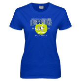 Ladies Royal T Shirt-Conference Carolinas Champions - Mens Tennis