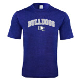 Performance Royal Heather Contender Tee-Arched Bulldogs