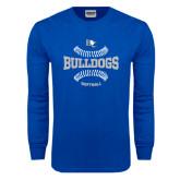 Royal Long Sleeve T Shirt-Softball Design