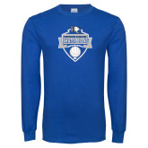 Royal Long Sleeve T Shirt-Conference Carolinas Champions - Mens Volleyball