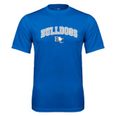 Performance Royal Tee-Arched Bulldogs