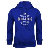 Royal Fleece Hoodie-Softball Design