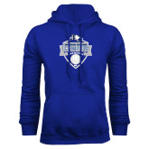 Royal Fleece Hoodie-Conference Carolinas Champions - Mens Volleyball