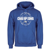 Royal Fleece Hoodie-2017 Womens Volleyball Champions