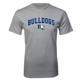 Grey T Shirt-Arched Bulldogs