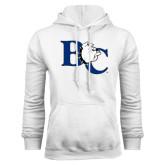 White Fleece Hoodie-Official Logo