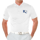 Callaway Opti Vent White Polo-Official Logo