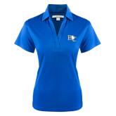 Ladies Royal Performance Fine Jacquard Polo-Official Logo