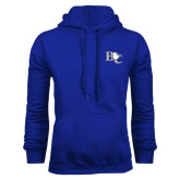 Royal Fleece Hoodie-Official Logo