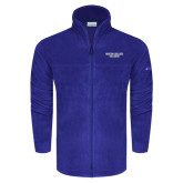 Columbia Full Zip Royal Fleece Jacket-Wordmark