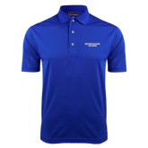 Royal Dry Mesh Polo-Wordmark