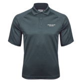 Charcoal Dri Mesh Pro Polo-Wordmark