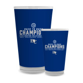 Full Color Glass 17oz-2017 Womens Volleyball Champions back to back