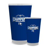 Full Color Glass 17oz-2018 Womens Swimming Champions
