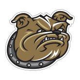 Medium Decal-Bulldog Head, 8 in W