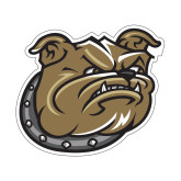 Small Decal-Bulldog Head, 6 in W