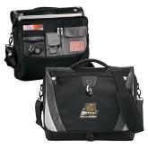 Slope Black/Grey Compu Messenger Bag-Bryant Official Logo