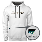 Contemporary Sofspun White Hoodie-Bryant