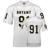 Replica White Adult Football Jersey-#91