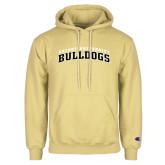 Champion Vegas Gold Fleece Hoodie-Arched Bryant University Bulldogs