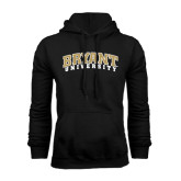 Black Fleece Hood-Arched Bryant University