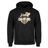 Black Fleece Hoodie-2014 Mens Lacrosse Champions