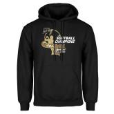 Black Fleece Hoodie-2014 Softball Champions