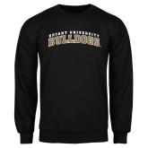 Black Fleece Crew-Arched Bryant University Bulldogs