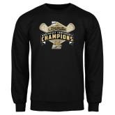 Black Fleece Crew-2014 Womens Lacrosse Champions
