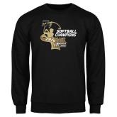 Black Fleece Crew-2014 Softball Champions