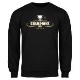 Black Fleece Crew-2014 NEC Spring Sports Champions