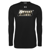 Under Armour Black Long Sleeve Tech Tee-Alumni