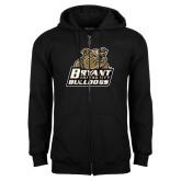 Black Fleece Full Zip Hoodie-Bryant Official Logo